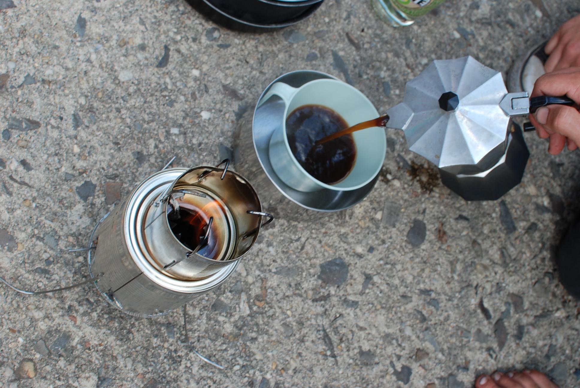 Gasifier-Kafeekocher