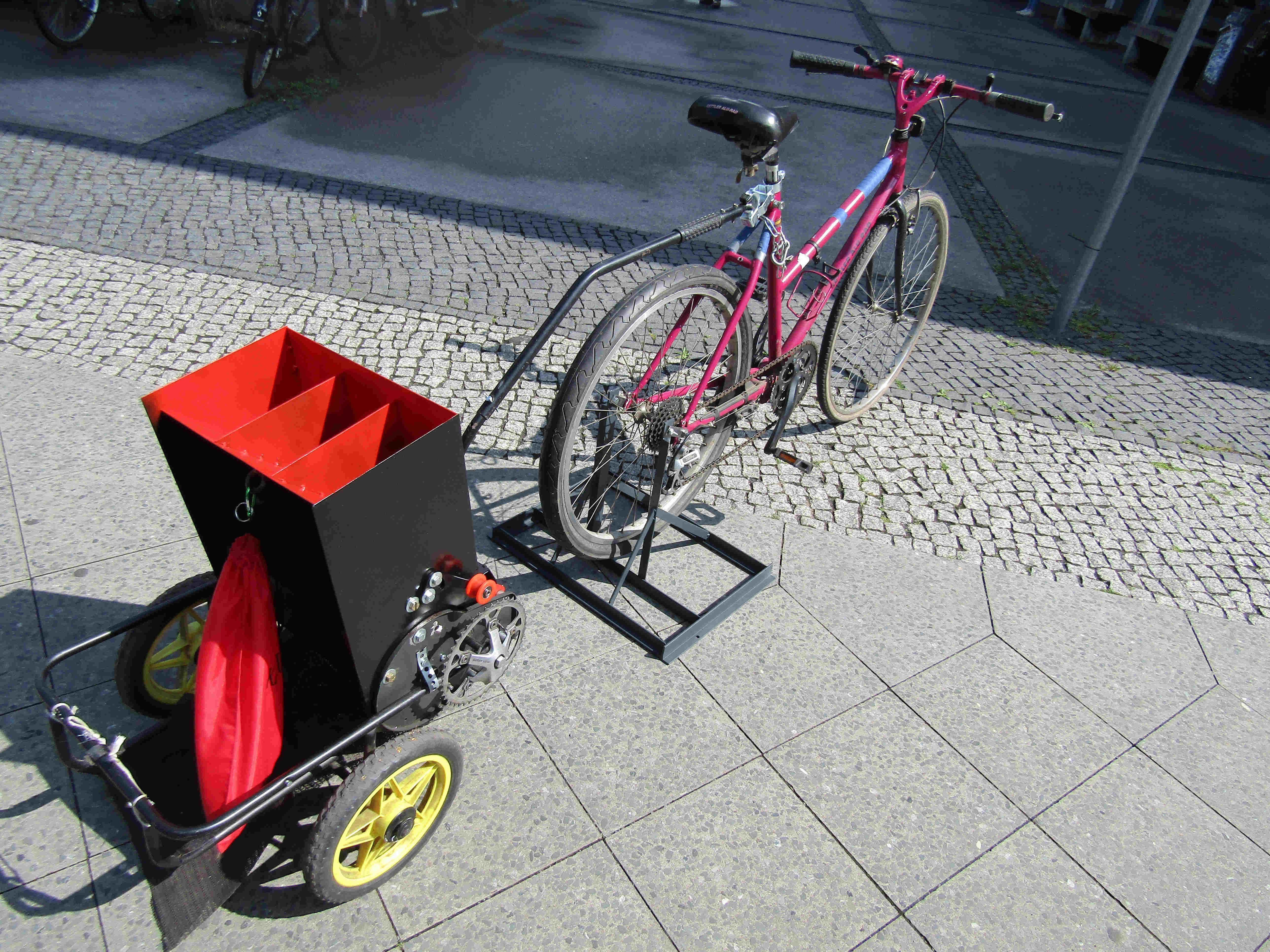 Sehr Abschluss des Projektes Pedal Powered Shredder   KanTe LI34