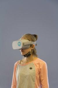 Mädchen mit 3D-Brille